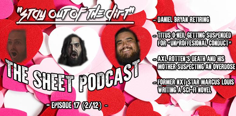 sheet podcast episode 17 ryan satin kevin silva elijah bates wrestling