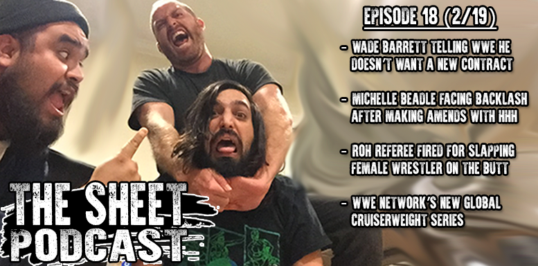 sheet podcast episode 18 ryan satin kevin silva elijah bates wrestling