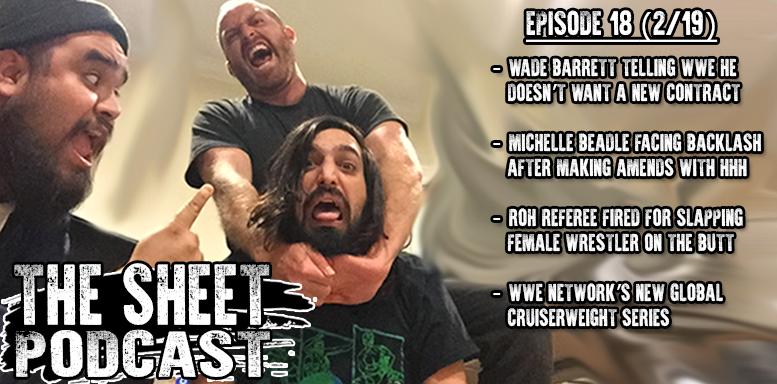 sheet podcast episode 18 ryan satin kevin silva elijah bates wrestling