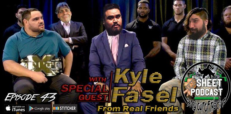 kyle fasel sheet podcast episode 43 ryan satin jamie iovine elijah bates kevin silva wrestling