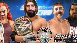 aj styles sheet podcast wrestling audio ryan satin jamie iovine elijah bates kevin silva