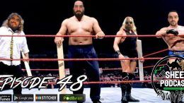luke harper sheet podcast 48 ryan satin jamie iovine dash radio kevin silva elijah bates wrestling