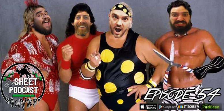 Episode 54 sheet podcast ryan satin elijah bates kevin silva jamie iovine pro wrestling