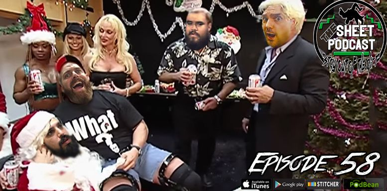 episode 58 sheet podcast wrestling radio podcast ryan satin jamie iovine elijah bates kevin silva