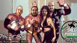 episode 59 sheet podcast ryan satin jamie iovine kevin silva elijah bates wrestling