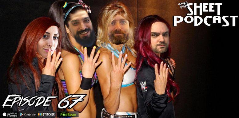 episode 67 sheet podcast ryan satin elijah bates jamie iovine erica steiner tna impact wrestling jack swagger randy orton bray wyatt