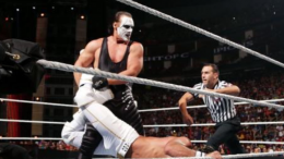 sting wwe injury night of champions