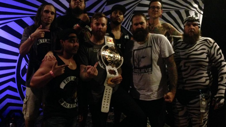 four year strong wrestling concert