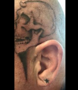 vampiro head tattoo lucha underground
