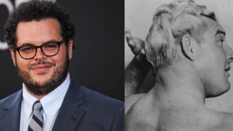 gorgeous george josh gad frozen biopic movie