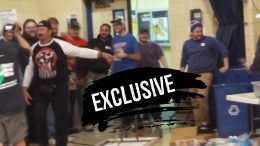 terry funk aiw wrestling concession stand video