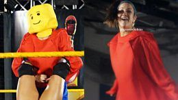 bayley nxt lego man costume halloween