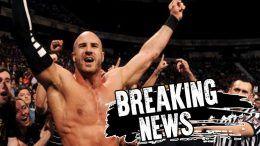 cesaro injured interview wwe wrestling shoulder rotator cuff torn