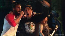 cm punk h20 concert singing ufc wwe video