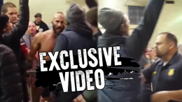 tommaso ciampa fan ejected video nxt wrestling