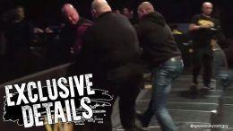 nxt sheffield fan ejected run in ring wwe wrestling