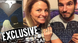 johnny gargano engaged Candice LeRae nxt wrestler wwe pwg couple proposal puzzle