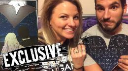 johnny gargano engaged Candice LeRae nxt wrestler wwe pwg couple proposal puzzle