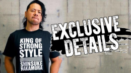 shinsuke Nakamura shirt njpw stop selling new japan pro wrestling wwe contract pro wrestling tees
