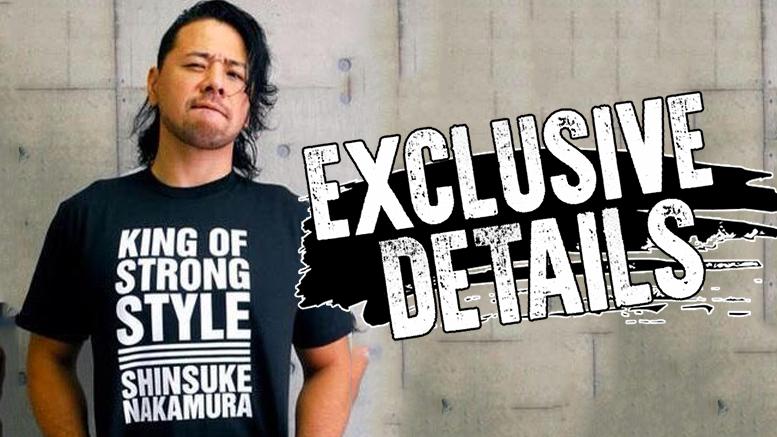 shinsuke Nakamura shirt njpw stop selling new japan pro wrestling wwe contract pro wrestling tees