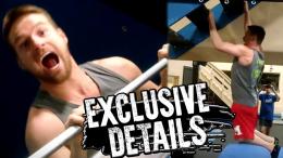Zach Gowen ninja warrior wwe wrestling
