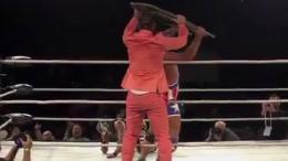 Riff Raff urfight kurt angle rey mysterio video wrestling