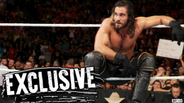 seth rollins training again brace off injury injured wwe champion