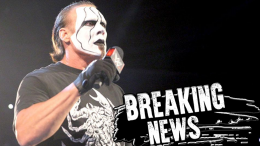 Sting Retiring wwe wrestling wrestlemania hall of fame hof ceremony retire wcw