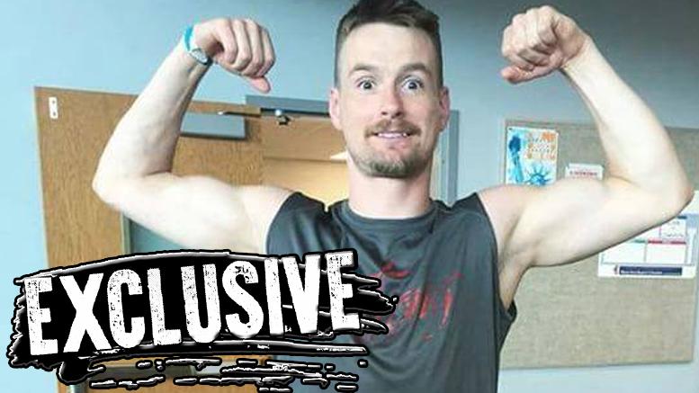Zach Gowen Booked American ninja warrior wwe wrestler one leg