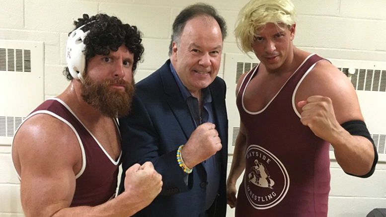 belding mr powerbomb table video saved by the bell wrestlepro