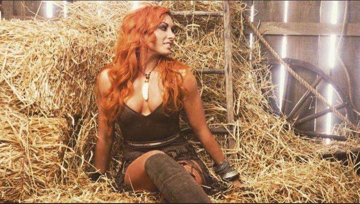 Lynch sexy becky WWE star