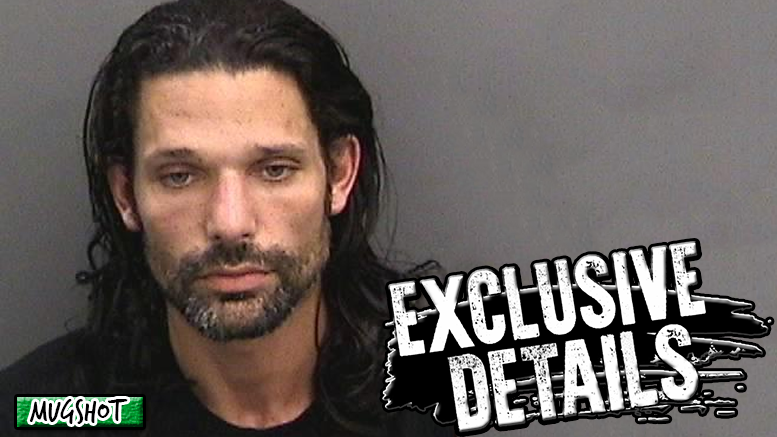 Rose adam mugshot wwe wrestler suspended domestic violence