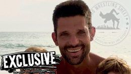 Adam Rose haircut wwe wrestler release domestic dispute wife short hair