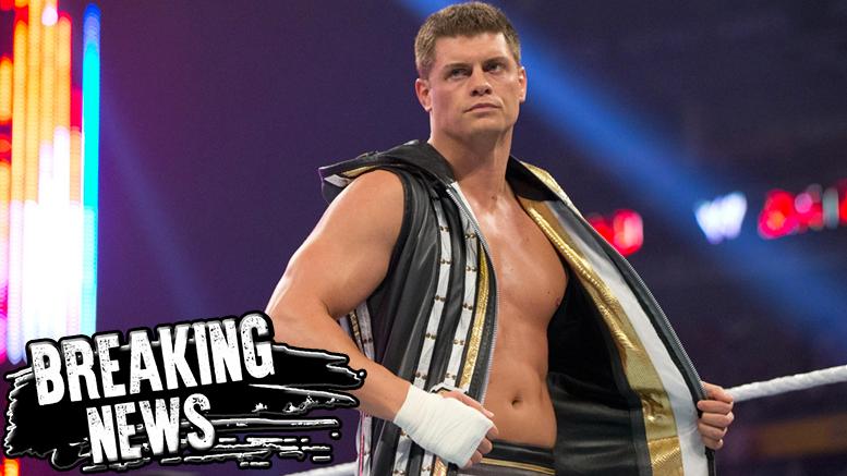 Cody Rhodes wwe release long statement wrestling