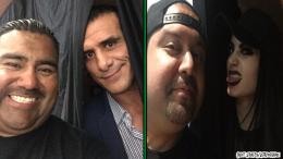 Alberto Del Rio Paige WWE PWG wrestling event prince couple