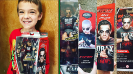 Drax Shadow wwe action figure wrestling cancer patient