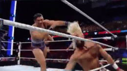 Enzo Amore injured payback wwe wrestling video