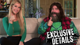 Mick Holy Foley wwe extreme rules backstage filming wrestling