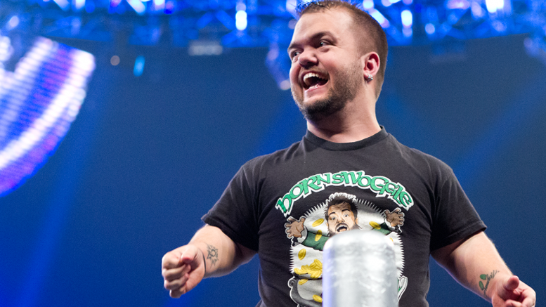 suspension hornswoggle wwe drug test not failed wrestling fired released