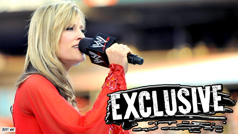 Lilian Garcia wwe not released father sick cancer announcer wrestling
