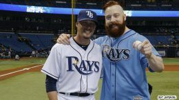 Sheamus baseball first pitch video wwe wrestler