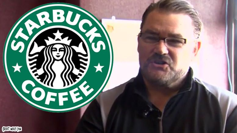 Tony Schiavone starbucks barista wcw announcer wrestling