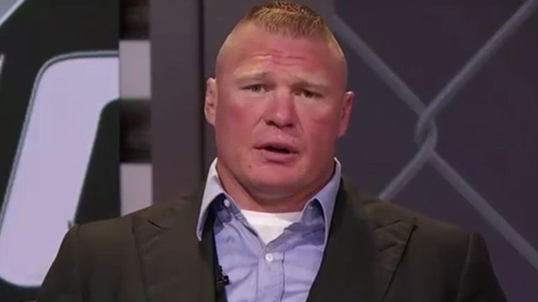 Brock Lesnar espn sportscenter wwe ufc 200 mark hunt fight return retirement regret retiring