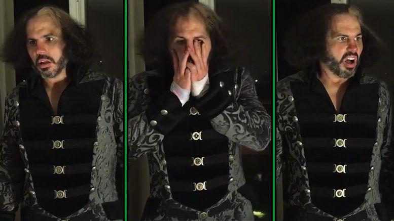 Matt Hardy faces video tna broken brother nero jeff hardy slammiversary reby wrestling wrestler