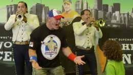 unexpected Cena super fan cricket wireless video surprise wwe wrestler wrestling
