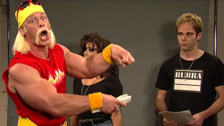 John Cena Hulk Hogan Gawker sketch video nbc maya and marty