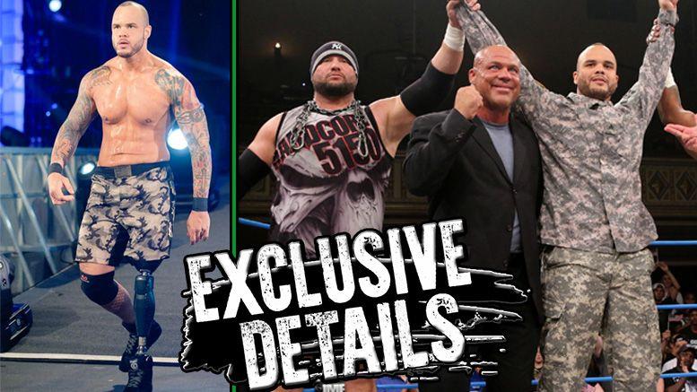 Chris Melendez tna wrestling contract expired leaves company split