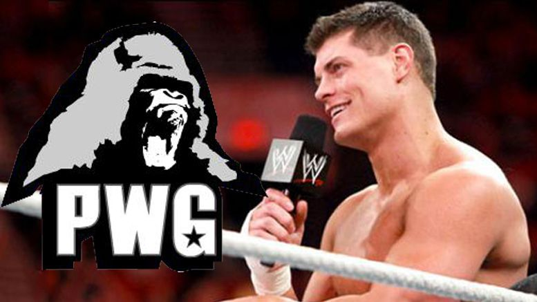 Battle of Los Angeles Cody Rhodes wrestling pwg wwe wrestler