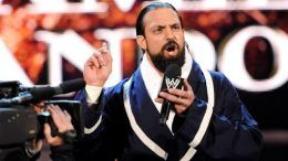 Damien Sandow farm wwe wrestler release shakespeare acting
