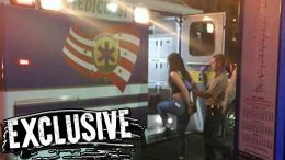 paige detained wwe wrestler money in the bank alberto del rio hospitalized police evaluation cops